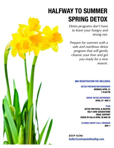 spring cleanse 4-21-14